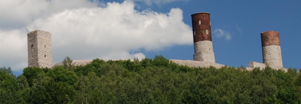 Checiny zamek panorama 1024x354 Zamek w Chęcinach