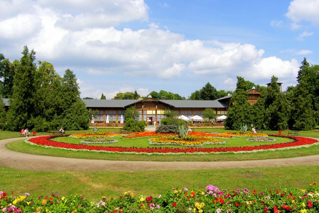park zdrojowy Ciechocinek