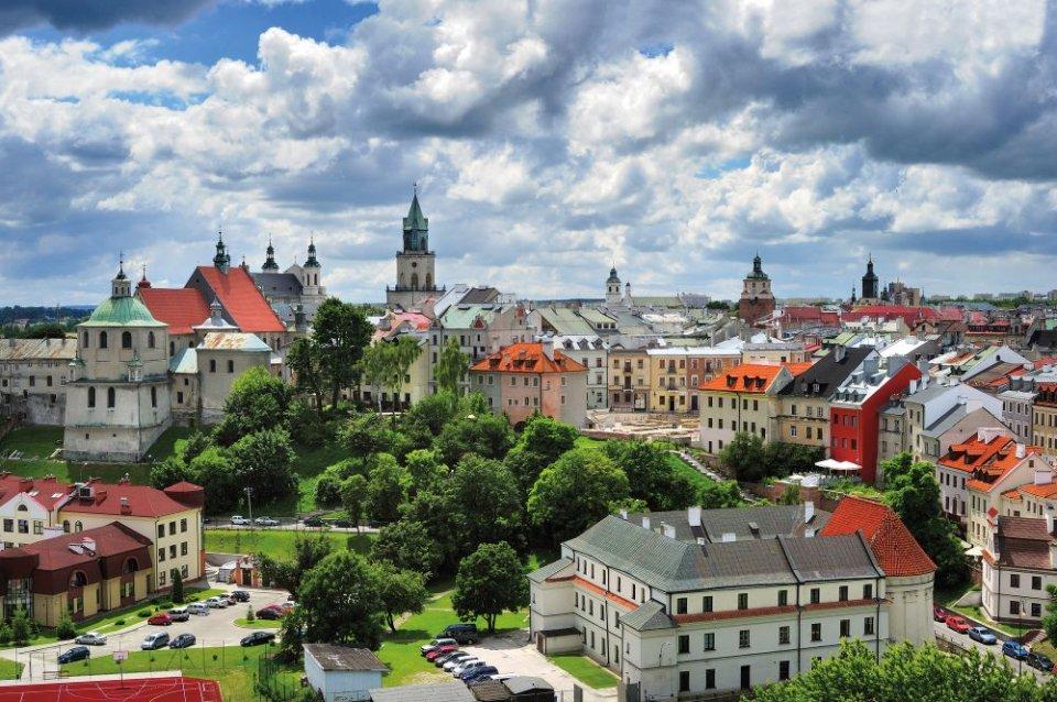 stare miasto lublin Piękne lubelskie stare miasto