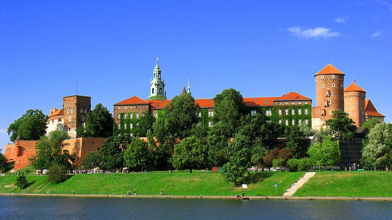 wawel od strony wisly1 Najpiękniejsze zamki Polski